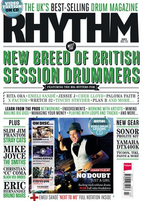 March issue of Rhythm on sale now!