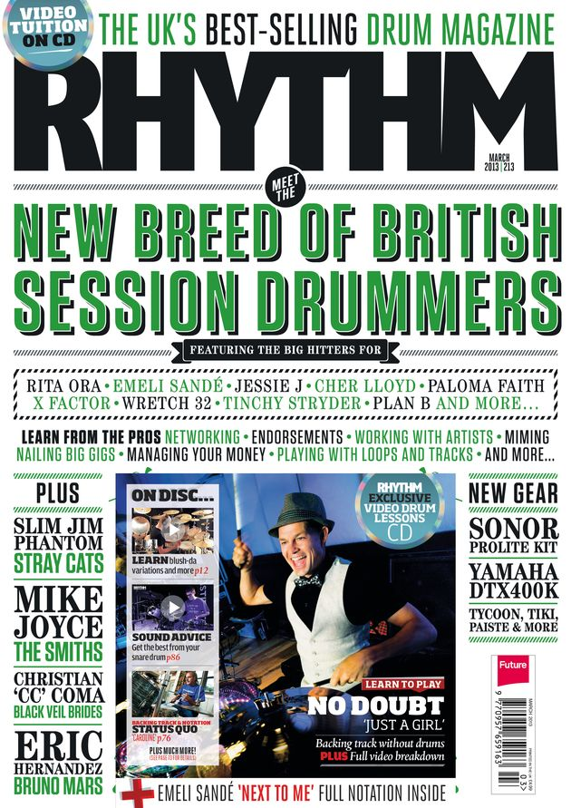 March issue of Rhythm out now!