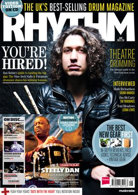 June issue of Rhythm on sale now
