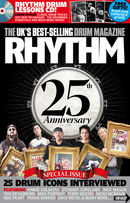 25th Anniversary Issue of Rhythm On Sale 31 August