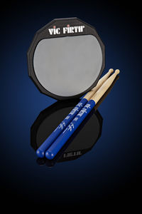 Subscribe to Rhythm and get a pair of signature Gavin Harrison sticks and Vic Firth practice pad!