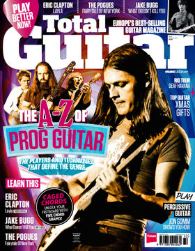 Total Guitar 248 on sale now: The A-Z Of Prog Guitar