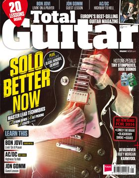 Total Guitar 249 on sale now: Solo Better Now!