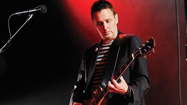 Mike McCready onstage at Manchester Evening News Arena on 21 June 2012