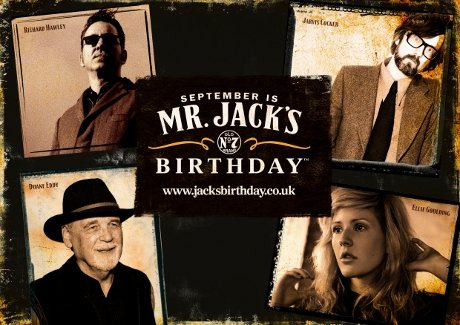 Win tickets to the jack daniel's birthday gig