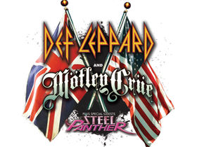 Def Leppard, Mötley Crüe and Steel Panther UK tour dates