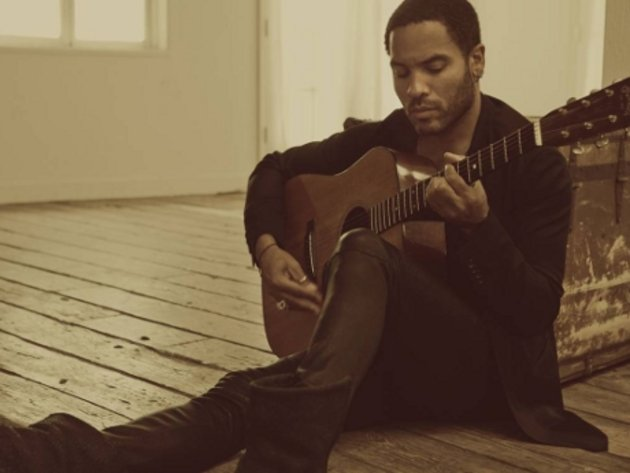 Lenny kravitz interview acoustic guitar