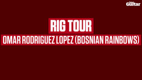 VIDEO: Rig Tour with Omar Rodríguez-López of Bosnian Rainbows (TG243)