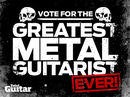 Last chance to vote in the greatest metal guitarist poll