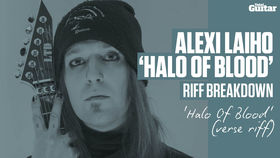 VIDEO: Alexi Laiho plays riffs from Children Of Bodom's new album 'Halo Of Blood' (TG242)