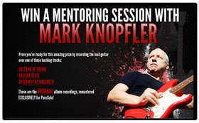 Win a private guitar lesson with mark knopfler