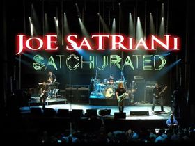 Joe Satriani 'Satchurated' live film due 9 April