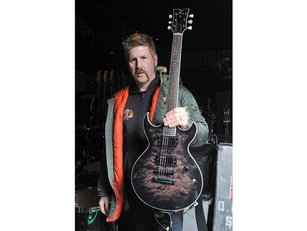 Bill Kelliher's custom-made doublecut