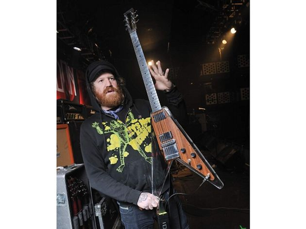 Brent Hinds' Custom Electrical Guitar Company Plexi-V