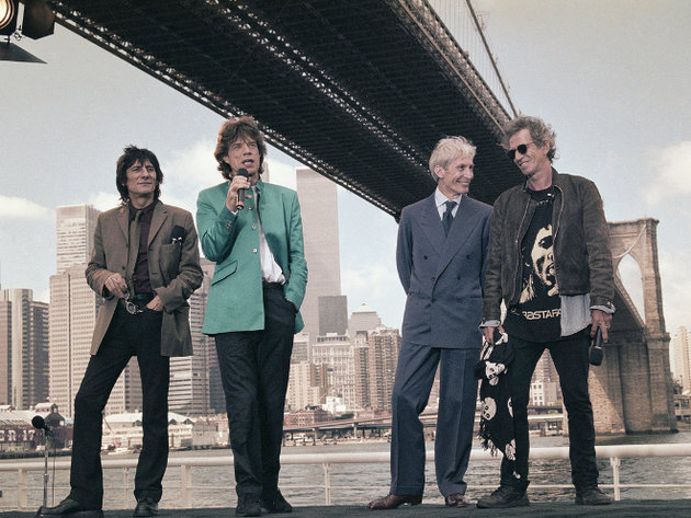 The rolling stones due for london jam