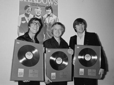 The shadows with records
