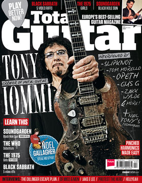 Total Guitar 250 on sale now: Tony Iommi interviewed by famous guitarists
