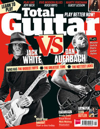 Total Guitar 256 on sale now: Jack White vs Dan Auerbach