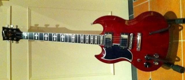 Tony Iommi's Gibson Custom Shop SG