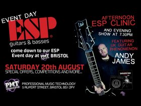 PMT bristol to host esp day with andy james