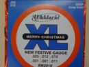 D'Addario's chocolate guitar strings!