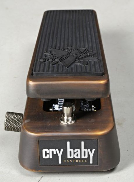 Jerry cantrell jc95 signature crybaby wah pedal