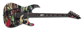 LTD slayer-2011 'reign in blood' guitar
