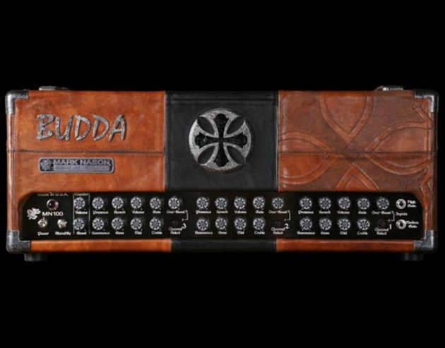 Budda mn-100 mark nason leather amp front