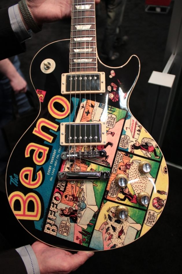 Gibson Beano Artwork Les Paul