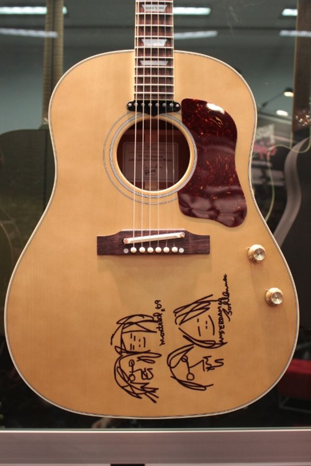 Gibson John Lennon 70th Anniversary J-160E Museum