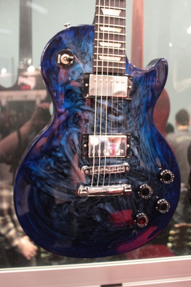 Gibson Anniversary Flood Les Paul Blue Swirl