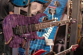 NAMM 2011: The Ibanez stand in pictures