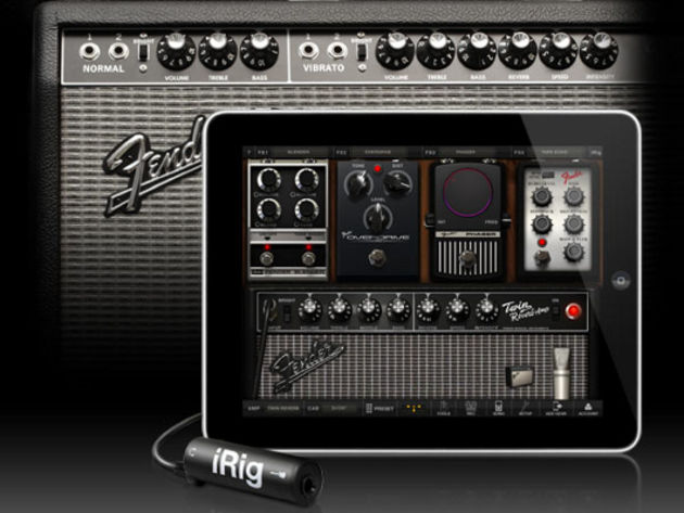 AmpliTube Fender for iPad/iPhone