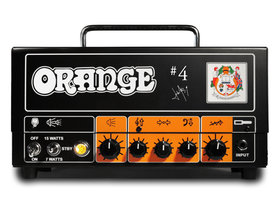 Orange unveils signature #4 jim root terror head and cab
