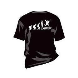 Total guitar evolution t-shirt