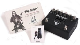 Blackstar launches gus g ht blackfire distortion pedal