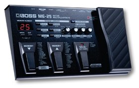 Competition - win an entire boss me-25 multi-effects unit!