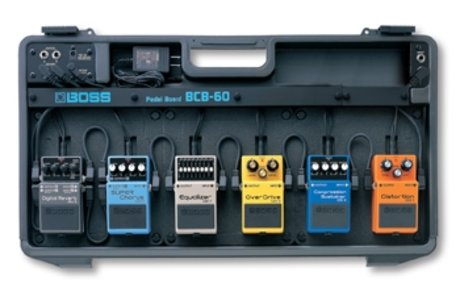 Competition - win an entire boss pedalboard worth over £800!