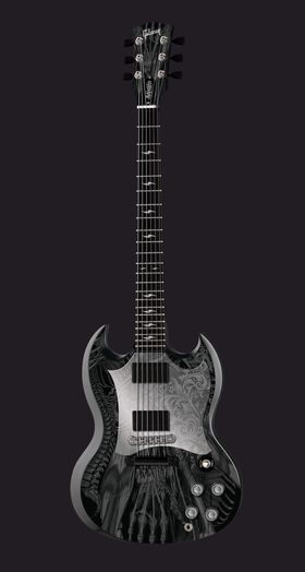 Gibson teams up with Relentless for one-off Gibson SG Relentless… and YOU could win it!