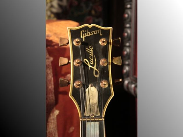 B.B. King's Gibson ES-355 Lucille headstock