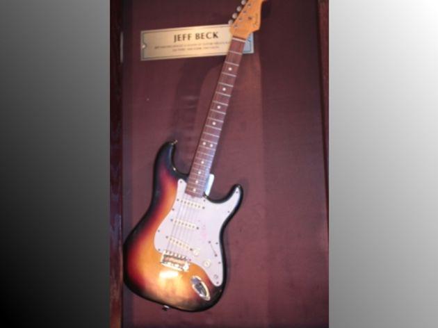 Jeff Beck's Fender Stratocaster