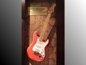 Guitars of the Hard Rock Café vault
