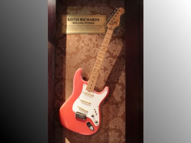 Keith Richards' Fender Stratocaster