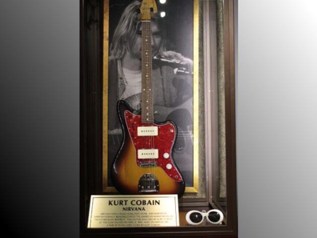 Kurt Cobain's Fender Jazzmaster