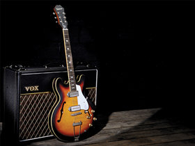 Win an epiphone casino and vox ac30 in our john lennon competition