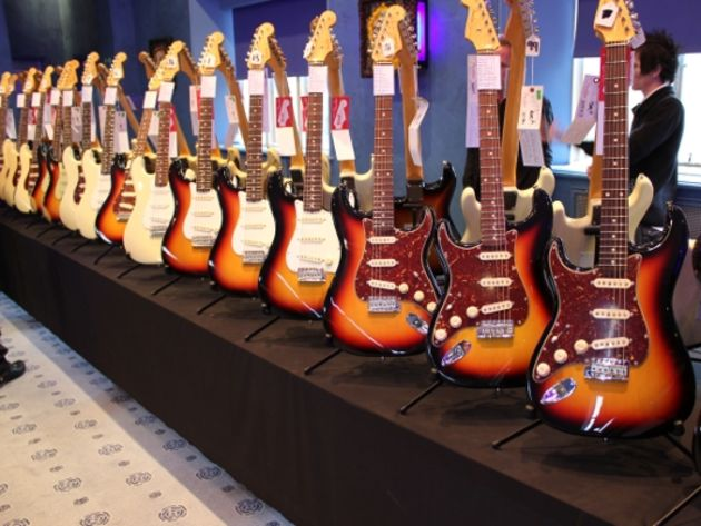 1960 NOS Sunburst Stratocasters