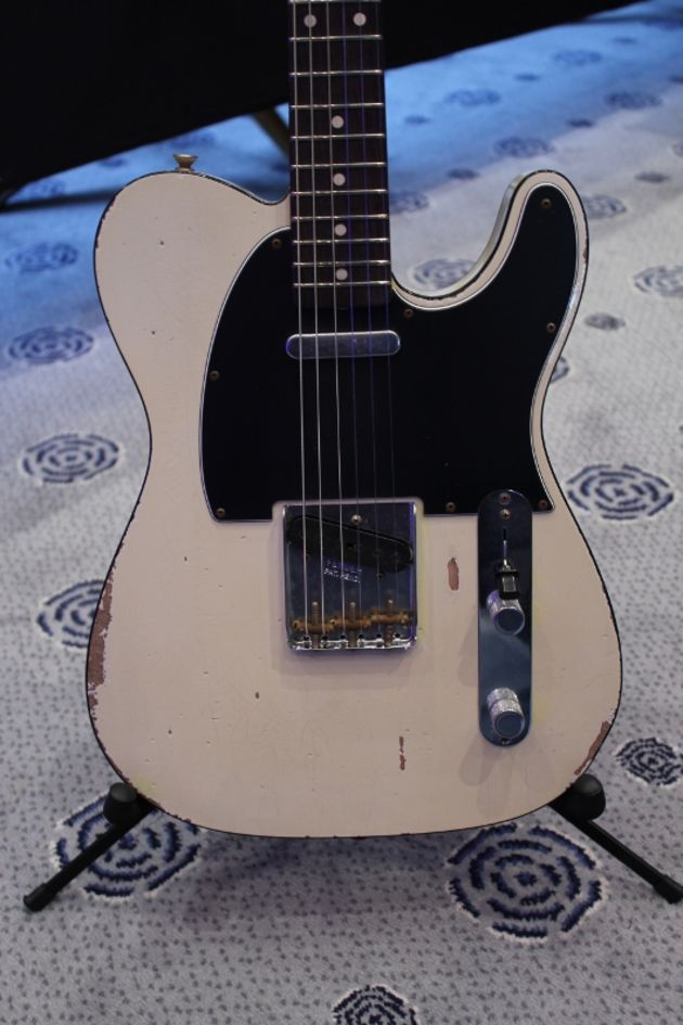 Masterbuilt Heavy Relic Olympic White Custom Telecaster