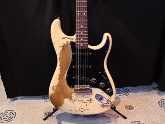 Masterbuilt 1961 Extreme Relic Honey Blonde Stratocaster