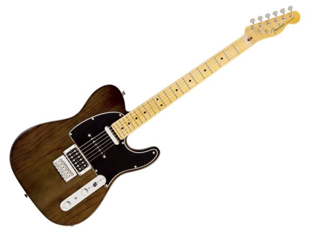 Fender Modern Player Telecaster Plus (Charcoal Transparent)