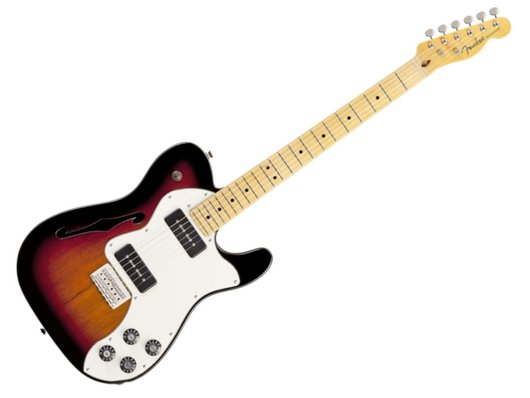 fender modern player thinline telecaster deluxe with two p90s harmony central. Black Bedroom Furniture Sets. Home Design Ideas